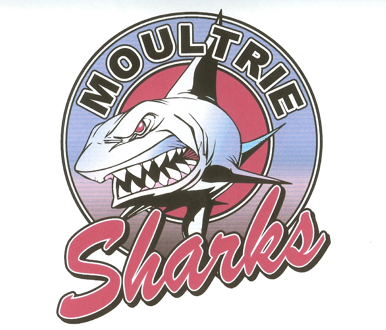 Moultrie Sharks Logo